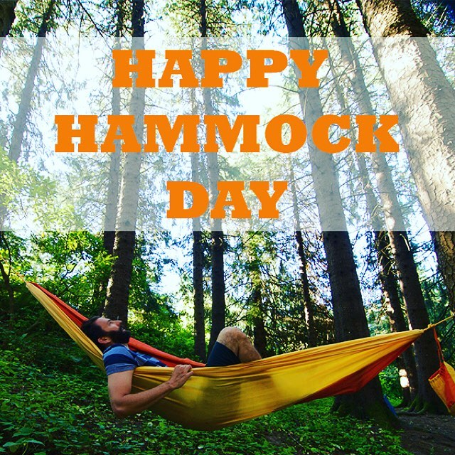 Happy Hammock Day! We like to think of every dayhellip