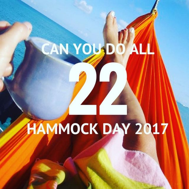 Hammock Day is July 22 so weve created the ultimatehellip