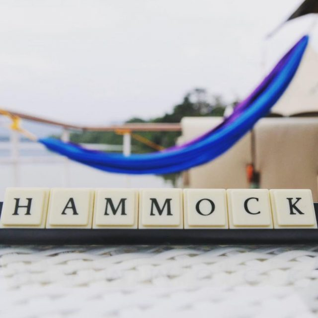 Scrabble Fans Were very proud that HAMMOCK is a sevenhellip