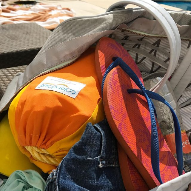 Whats in your beach bag? hammocklife inacolorcloud   hellip